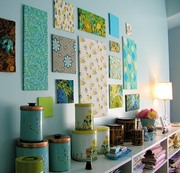 Декорирование текстилем,  авторские решения.